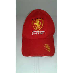 Gorro De Vicera Marca Ferrari Impecable