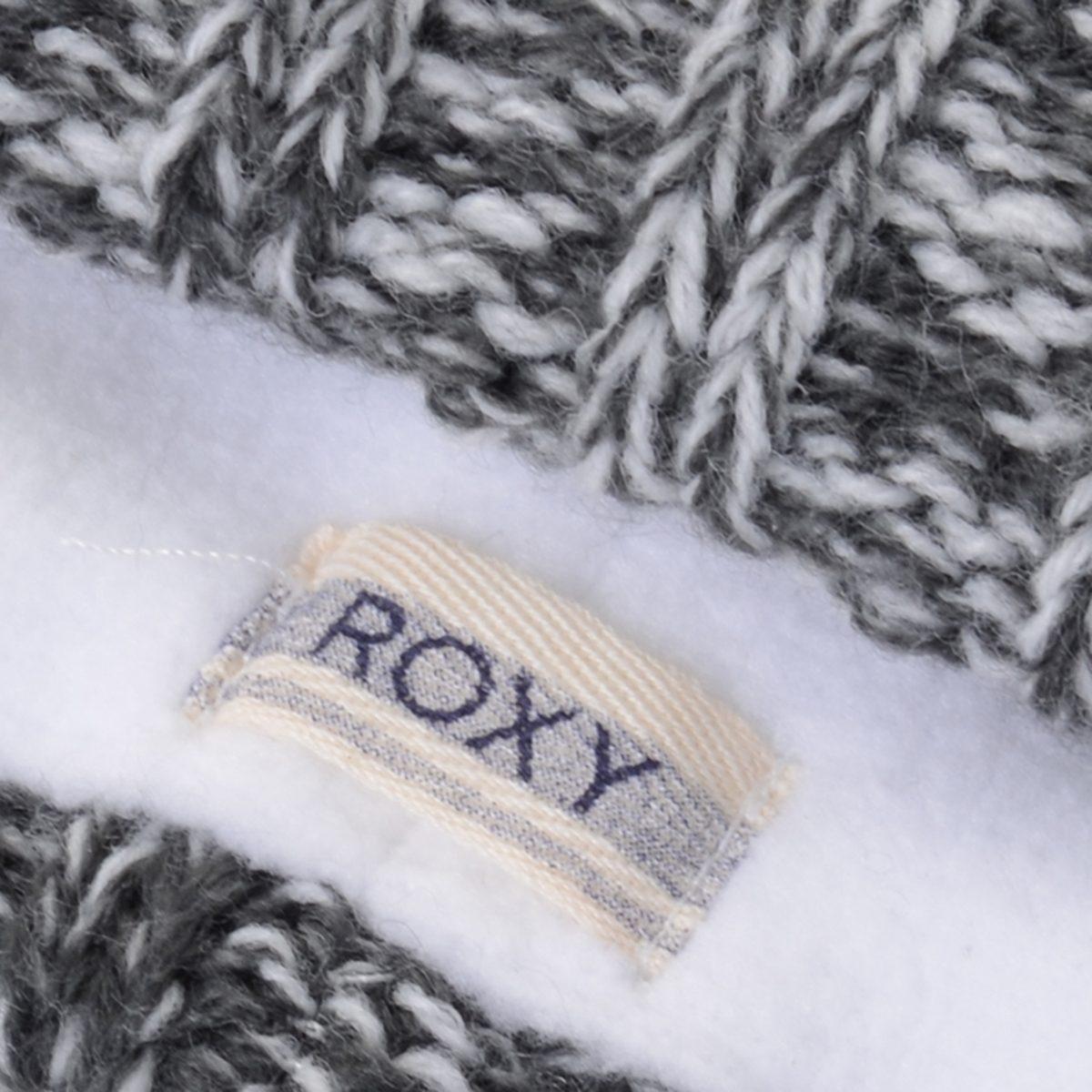 Gorro Feminino Roxy Tip Top Beanie - Cor  Cinza - R  119 37fac998cb1