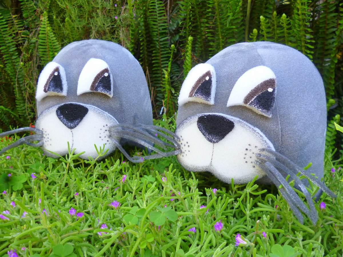 58f527ad7d6 gorro foca disfraz animales goma espuma cotillón. Cargando zoom.