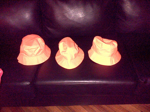 gorro  forever 21-talle unico-hatsbucket orange