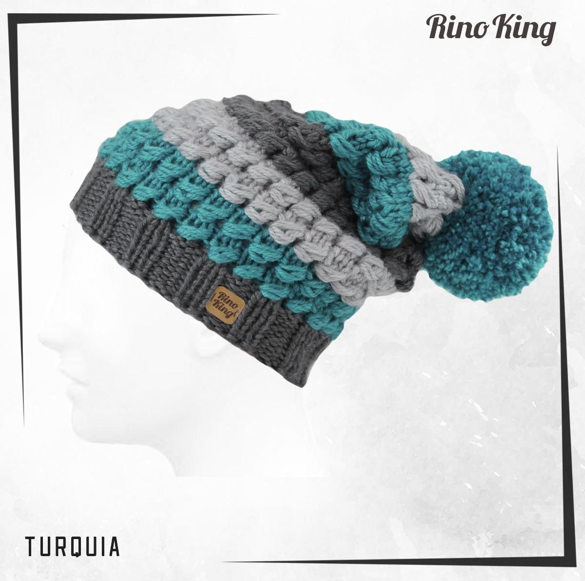 Gorro Hombre Mujer Rino King Modelo Turquía Calidad Premium - $ 377 ...