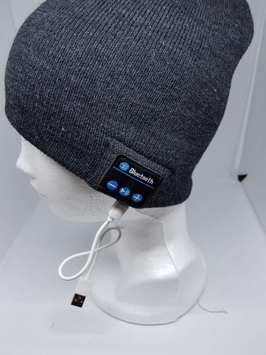 gorro inteligente con bluetooth para música y manos libres
