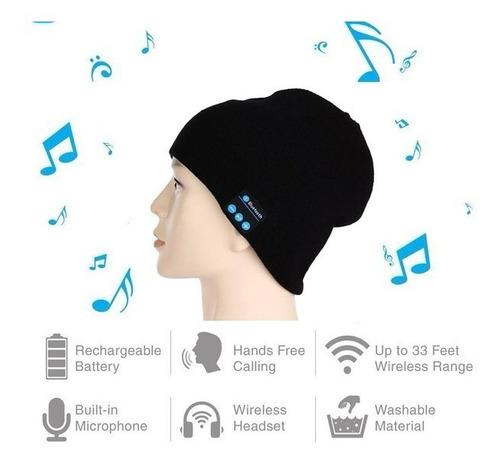 gorro inteligente manos libres audifonos stereo+envio gratis
