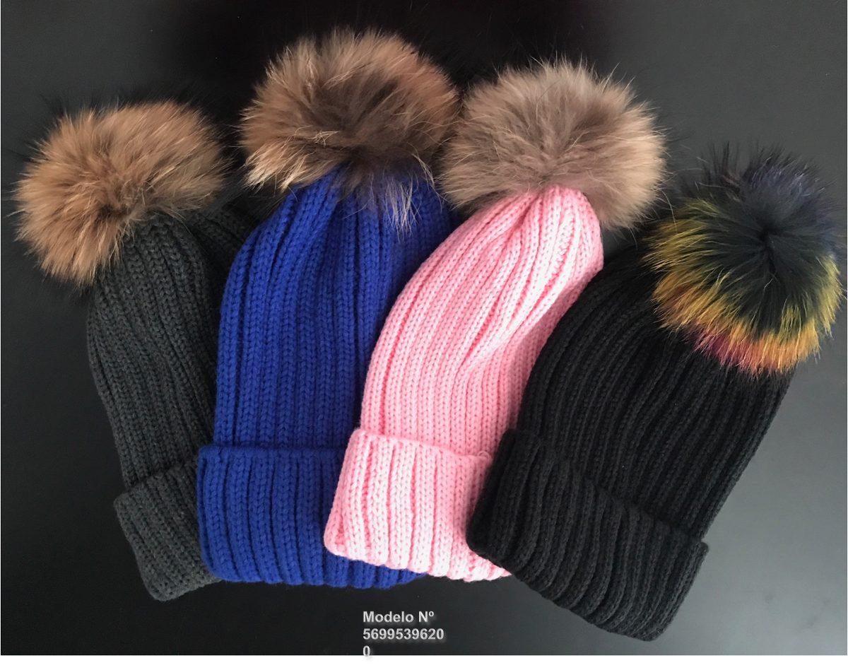 Gorro invierno mujer lana con pompon en mercado libre jpg 1200x948 Imagenes  gorros de invierno dace96ca155