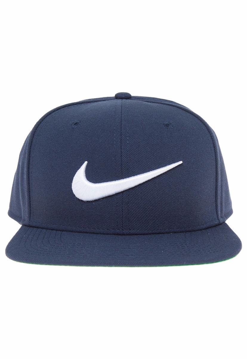 Gorro Jockey Azul Marino Nike Snapback Bordado -   14.990 en Mercado ... 7029fa7e557
