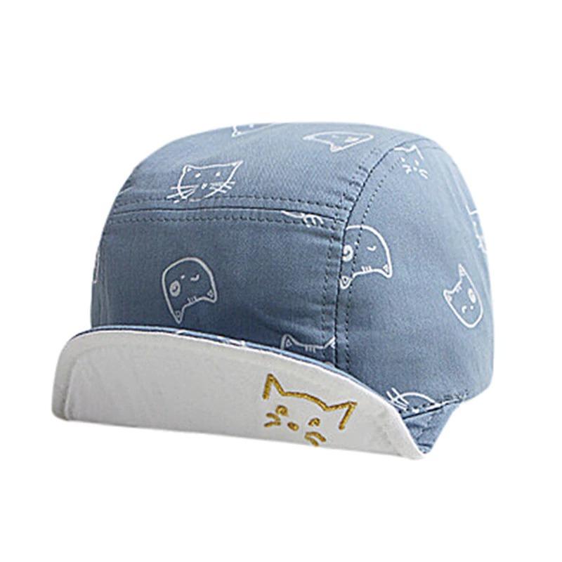 gorro jockey sombrero protección solar gatos bebés niños. Cargando zoom. abc5fceddc7