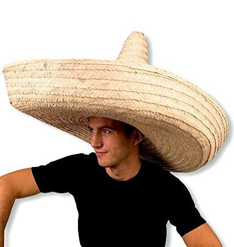 Gorro Jumbo Gigante Sombrero Zapata Paja Español Adulto M ... a3da15114fa