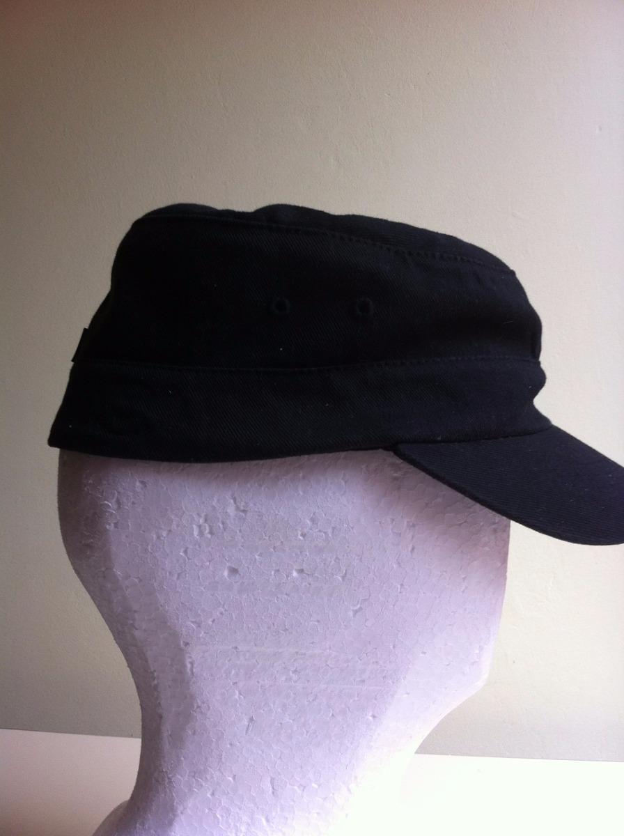 bff5121d1697bd gorro kangol, cotton twill army cap, flexfit, color negro.-. Cargando zoom.
