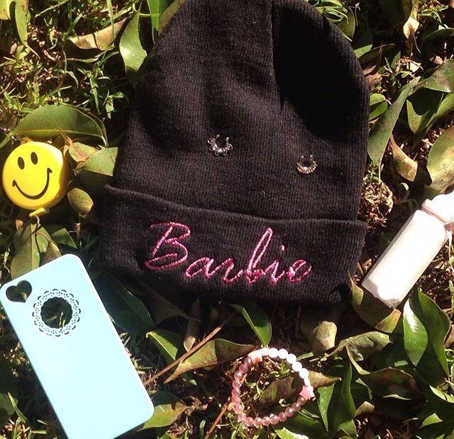 Gorro Lana Beanie De Barbie Invierno 2016 -   180 3ffd18b8762