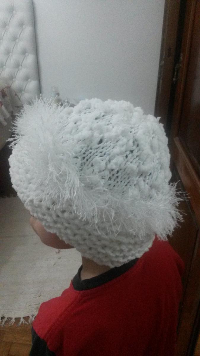 0df7371b9b751 gorro lana tejido a mano blanco niño adulto muy original. Cargando zoom.