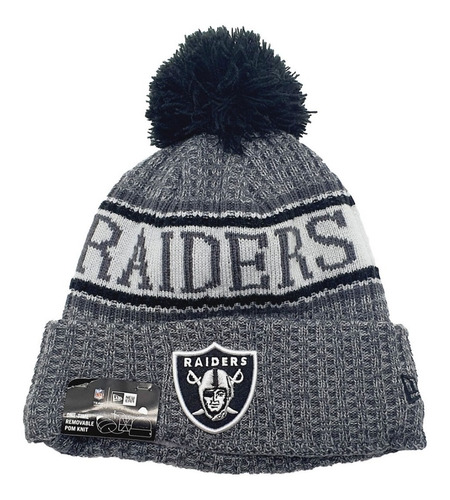 gorro las vegas raiders nfl new era cold weather