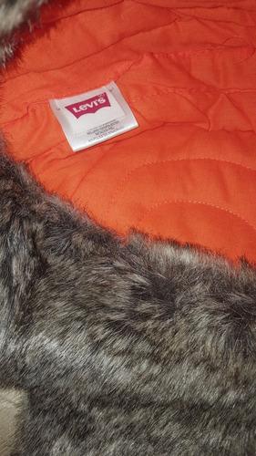 gorro levis tipo ruso polar para frio 100% autèntica