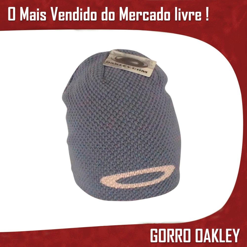 Gorro Luxo Touca Oakley Beanice Zac Efron Toca Importada - R  162 328c3e9ae1d