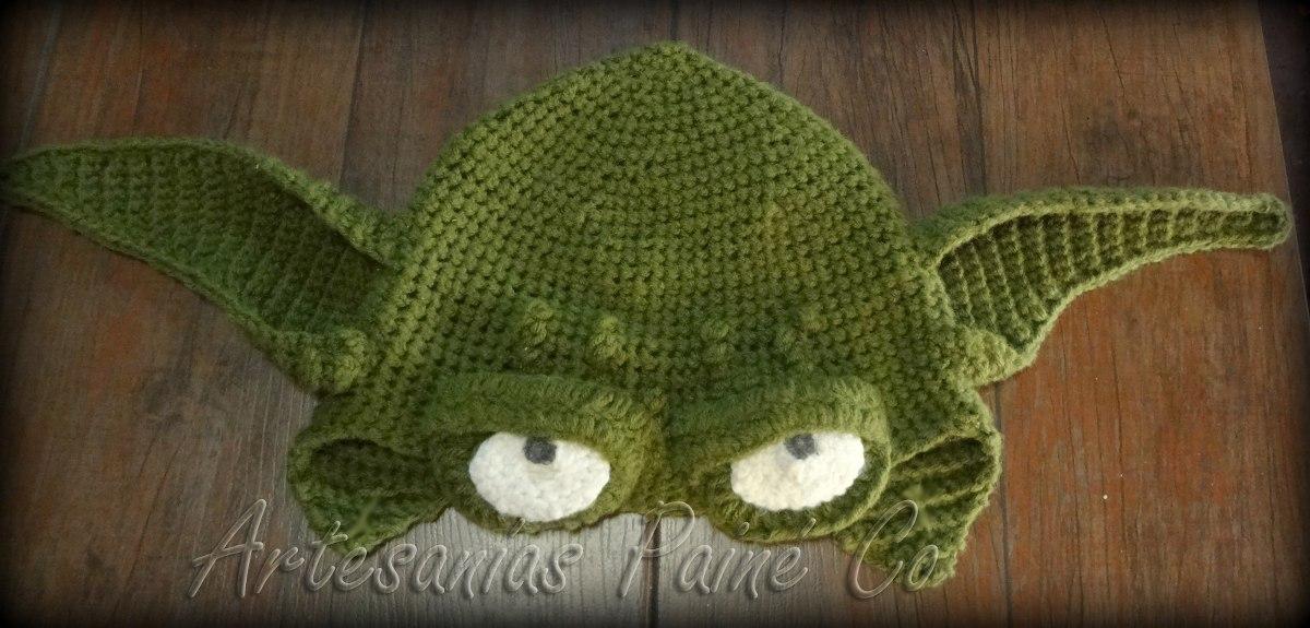 Asombroso Yoda Patrón De Crochet Sombrero Composición - Ideas de ...