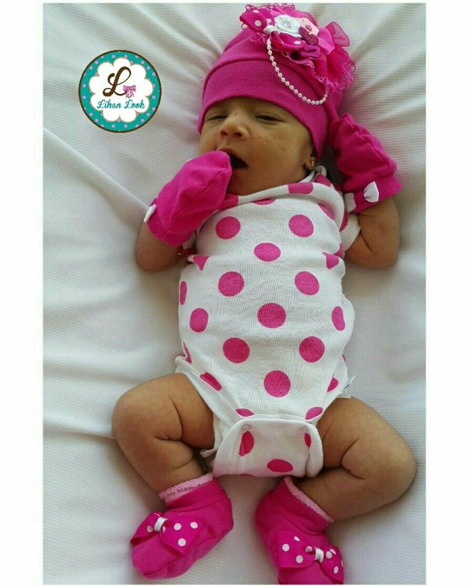 Gorro manoplas escarpines con lazos para bebes bs 20 - Lazos para bebes ...