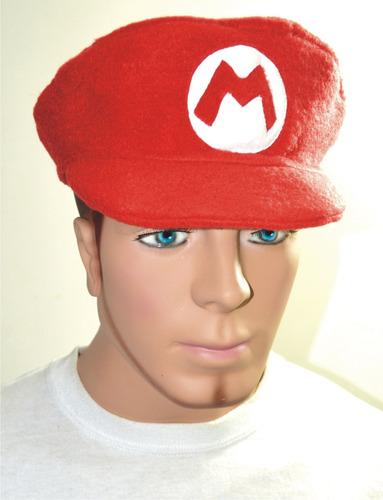 gorro mario gamers videojuego nintendo mario bros cosplay