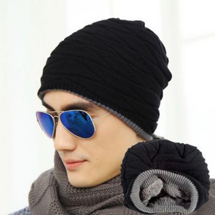 Gorro Masculino Inverno Touca Masculina Gorro Para Homens - R  37 d6134bb79a5