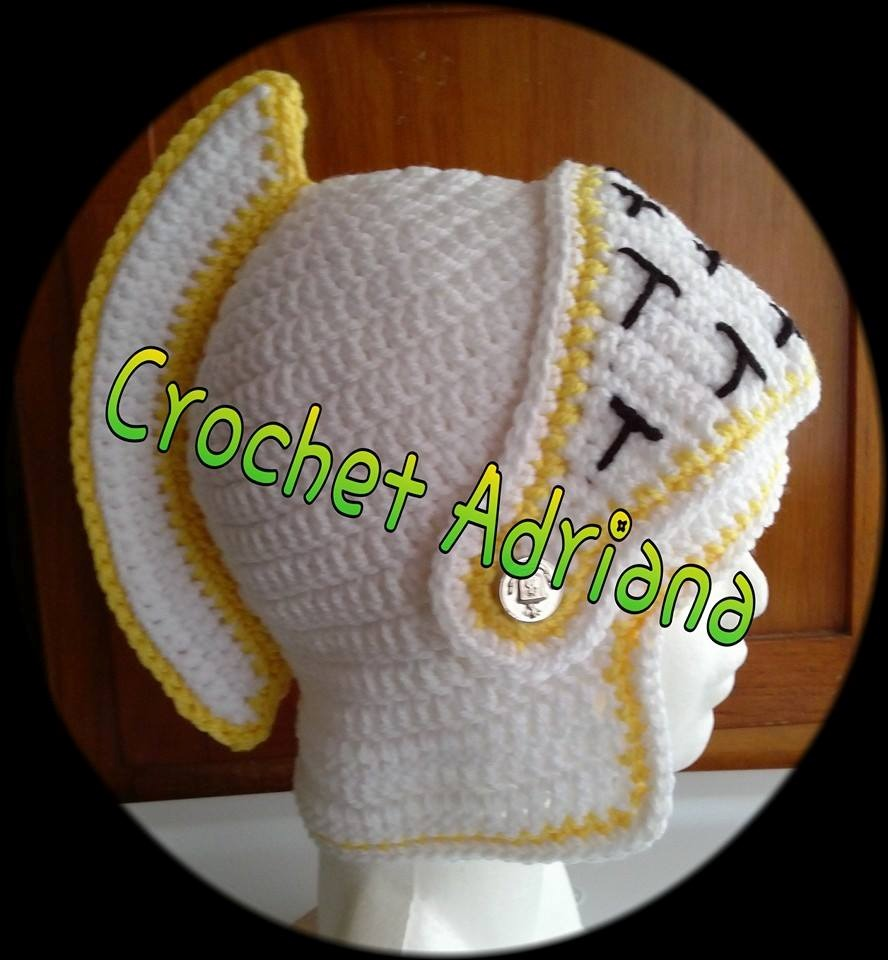 Gorro Medieval Bebés Tejidos Crochet - $ 280.00 en Mercado Libre
