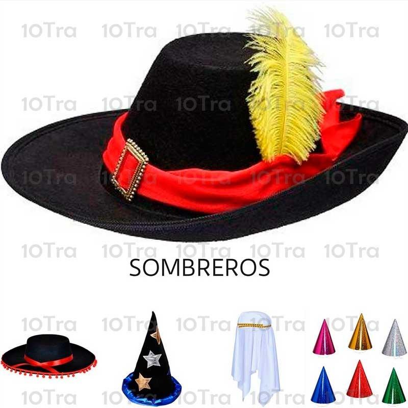 gorro mexicano bandas multicolor cotillón disfraz halloween. Cargando zoom. 8bb3ad929d6