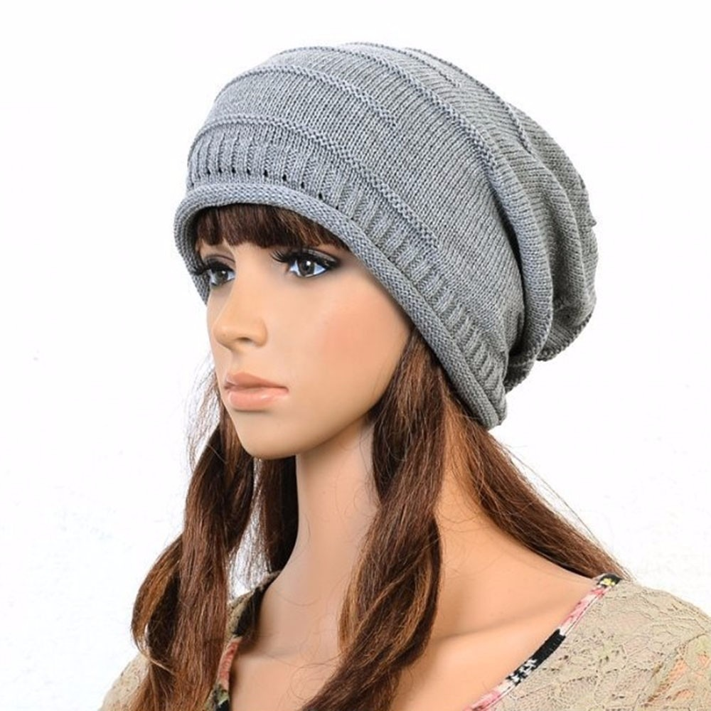 Gorro Mujer Beanie Chullo Color Gris - S  29 20374c9ef46