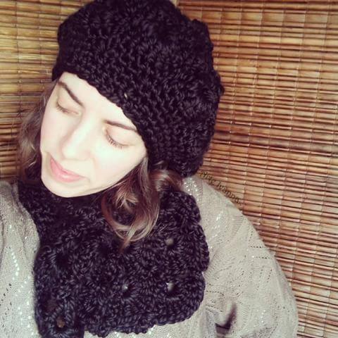 872b7b1736847 gorro de lana mujer crochet boina tejido artesanal invierno · gorro mujer  boina