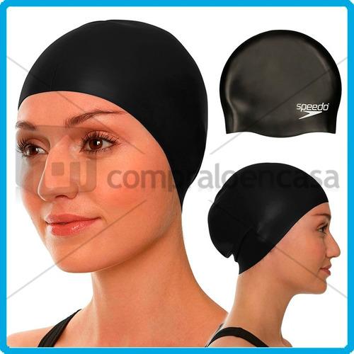 gorro natación silicona speedo resistente durable piscinas