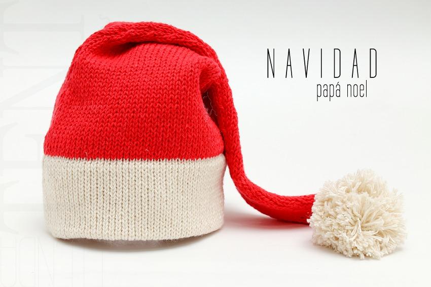 Gorro Navidad Papá Noel Para Recien Nacidos Bebés Y Niños - $ 260,00 ...