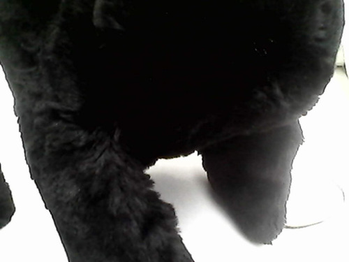 gorro negro con orejeras