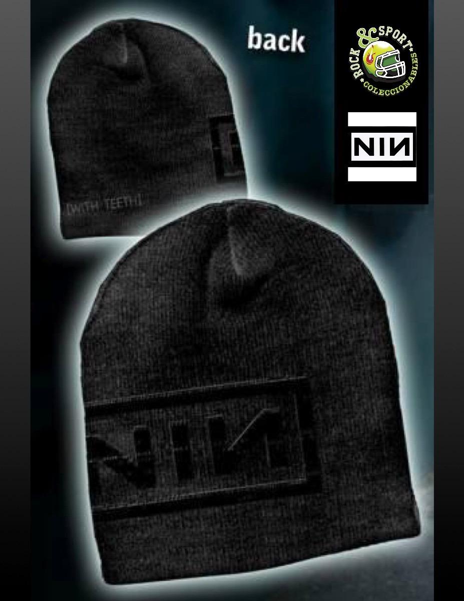 Gorro Nine Inch Nails Importado Bioworld Gorro Grupos -   380.00 en ... 5707fada045