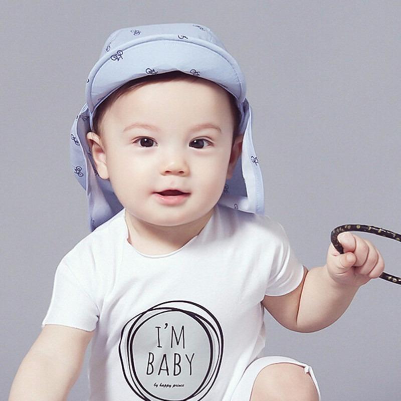 gorro niño 6 meses a 3 años gorra sol celeste bebe. Cargando zoom. e9bbab0dbb6
