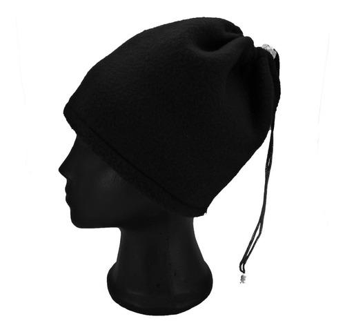 gorro o cuello negro tipo bandana  invierno ropa termica