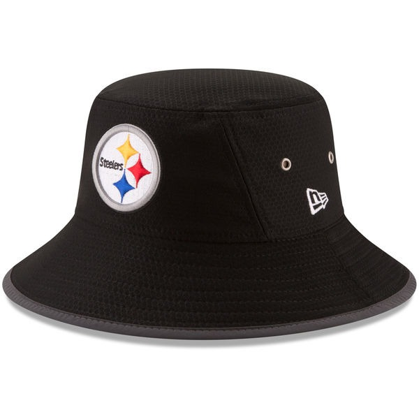 Gorro Oficial New Era Bucket Hat De Los Pittsburgh Steelers ... 4aee8327a4e