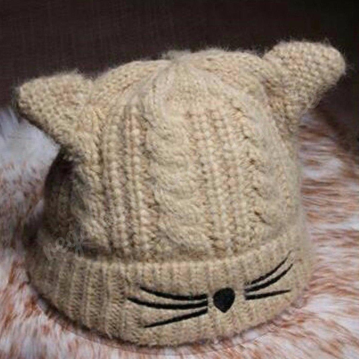 a6bd4af98411c Gorro Orejas De Gato Tejido Cute-kawaii Mujer Niñas -   360.00 en ...