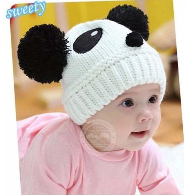 Gorro para bebe con tejido de pandita en mercado libre - Gorro piscina bebe ...