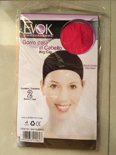 gorro para cabello despues del secado marca evok, colores