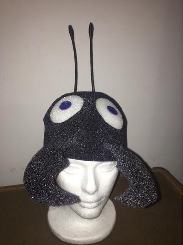 gorro para disfraz de hormiga (por pedido)