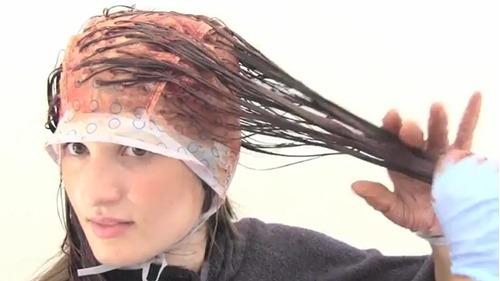 El medio por la partida para naroschennyh el cabello
