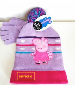 Peppa Pig Juego de gorro y guantes de invierno para ni/ños y ni/ñas dise/ño de unicornio