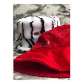 Gorro Pescador Piluso Bucket Hat Pana Corderito Animal Print