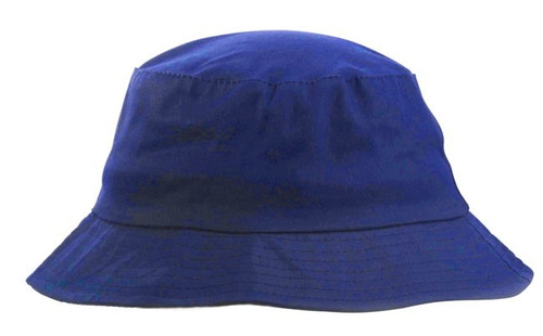 gorro piluso algodón color azul francia