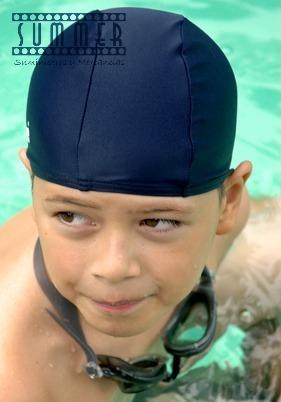 Gorro piscina nataci n lycra de alta calidad 3 piezas en mercado libre - Gorros de piscina ...