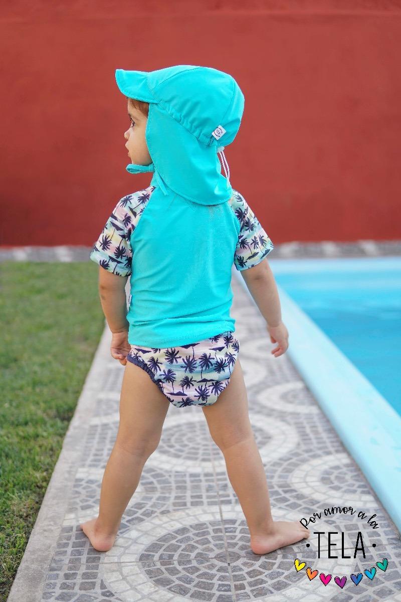 Gorro Proteccion Uv 50 Bebe 0-3 Años Sombrero Gorra -   570 f123d9a1234