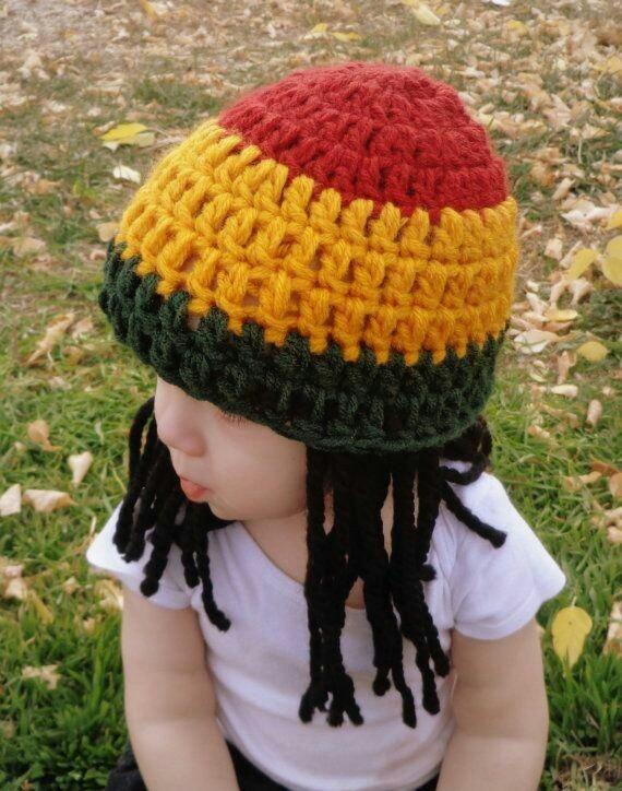 Gorro Rasta Bob Marley -   250 4499cba2a48