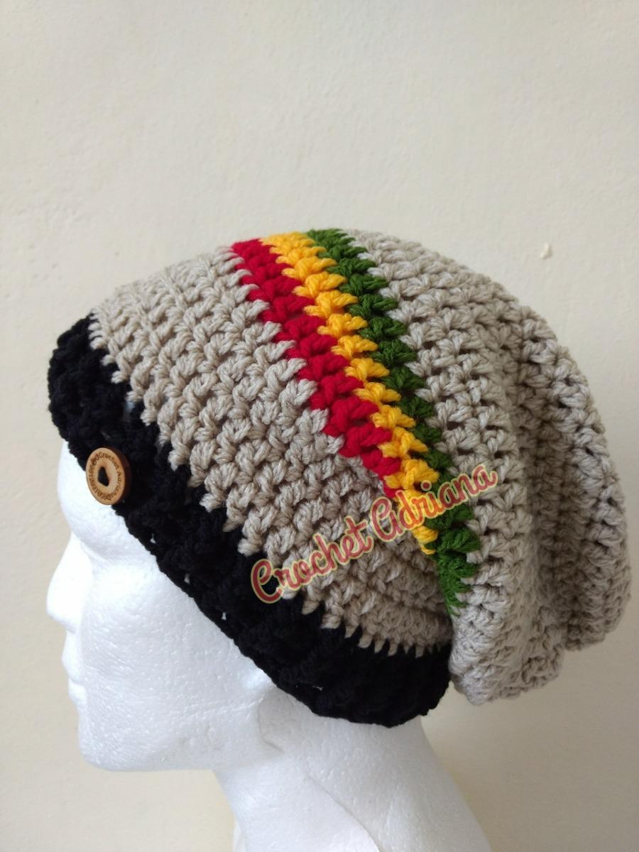Gorro Rastafari Crochet Adultos Y Niños - $ 420.00 en Mercado Libre