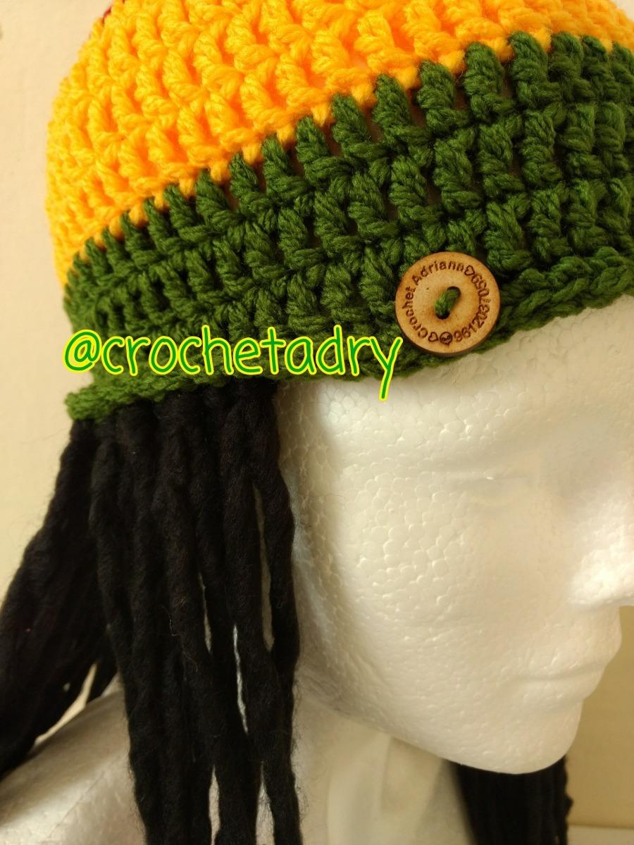 Gorro Rastas Crochet Niños Y Adultos - $ 320.00 en Mercado Libre