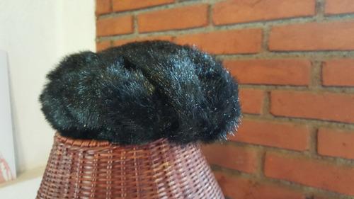 gorro ruso negro (unisex)