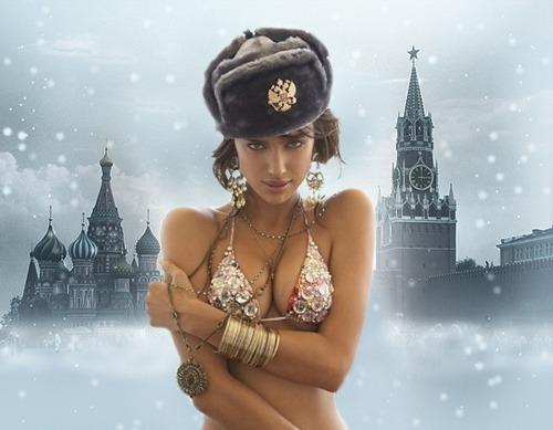 gorro ruso shapka de invierno gris (para cabezas 53-56)