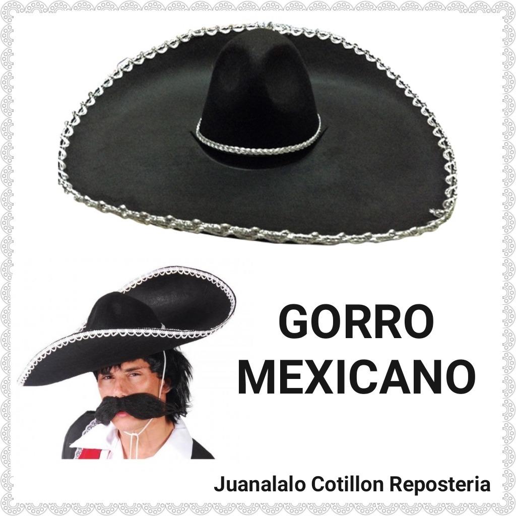 gorro sombrero mexicano grande premium juanalalo cotillon. Cargando zoom. e11764737c0