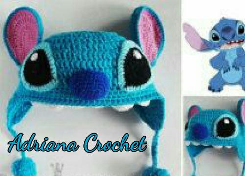 Crochet Y Stitch : Gorro Stitch (lilo Y Stitch) Crochet BebEs - $ 180.00 en Mercado ...