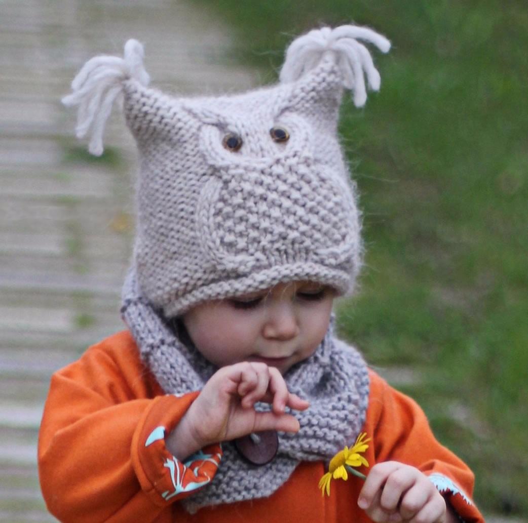Gorro tejido a mano buho para niños adultos hombre mujer cargando zoom jpg  1042x1033 Gorros tejidos f743345338c